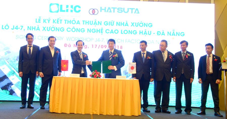 Công bố và trao Giấy chứng nhận dự án nhà xưởng phụ trợ đầu tiên tại Khu Công nghệ cao Đà Nẵng