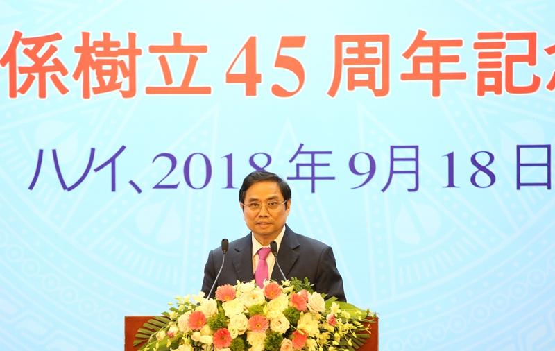 Kỷ niệm 45 năm thiết lập quan hệ ngoại giao Việt Nam – Nhật Bản