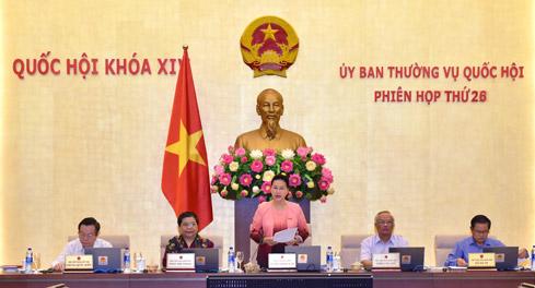 Công bố 7 nghị quyết của Ủy ban Thường vụ Quốc hội