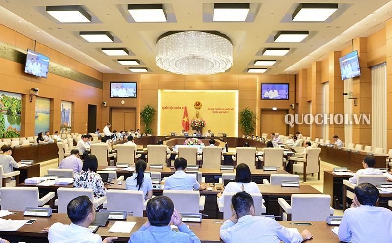 Công bố 3 Nghị quyết của Ủy ban Thường vụ Quốc hội