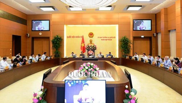 Công bố 03 nghị quyết của Ủy ban Thường vụ Quốc hội