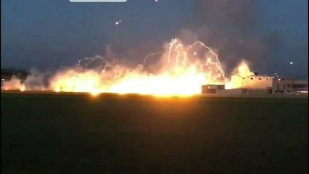 Mỹ bác bỏ cáo buộc ném bom phốt-pho trắng xuống Syria