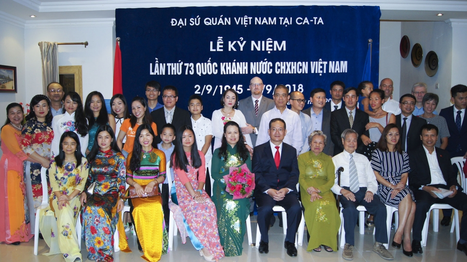 Kỷ niệm 73 năm Quốc khánh Việt Nam tại Qatar