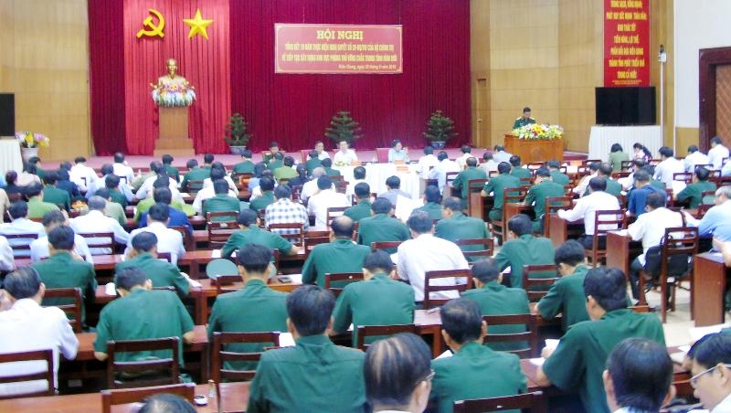 Kiên Giang: Xây dựng thế trận khu vực phòng thủ vững chắc