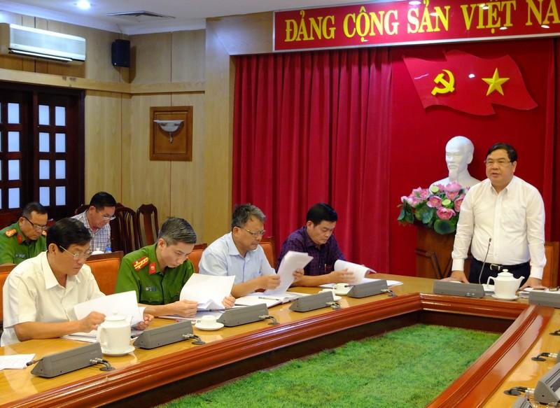 Giao ban công tác nội chính và phòng, chống tham nhũng các tỉnh phía Nam