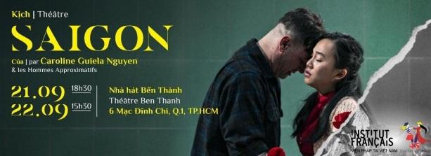 """Công diễn vở kịch """"Sài Gòn"""" tại thành phố Hồ Chí Minh"""
