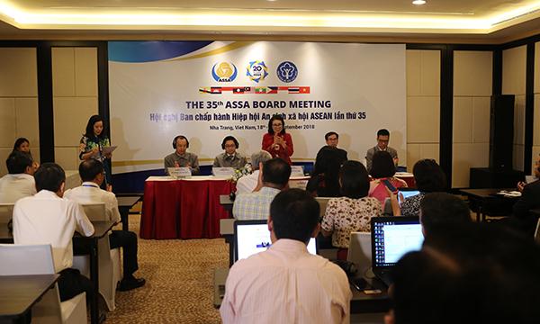 Hội nghị ASSA 35 đã hoàn thành nhiều chương trình hoạt động về công tác an sinh xã hội