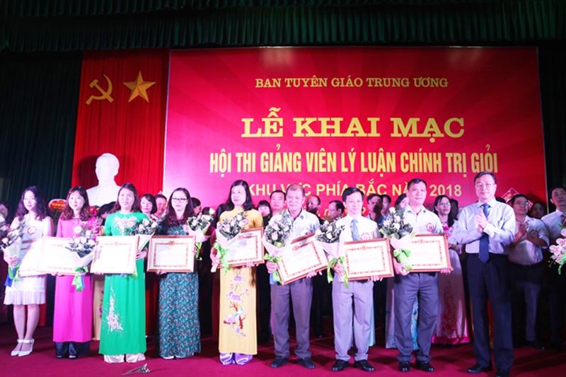 Kế hoạch Tổ chức Hội thi giảng viên lý luận chính trị giỏi năm 2018