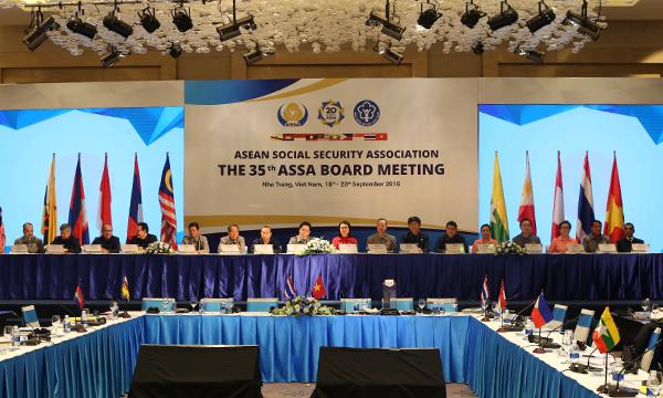 Thành viên ASSA ký Tuyên bố chung hướng tới mục tiêu phát triển an sinh xã hội bền vững  