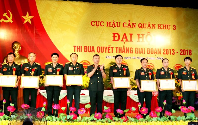 Cục Hậu cần Quân khu 3 tiếp tục đẩy mạnh phong trào Thi đua quyết thắng