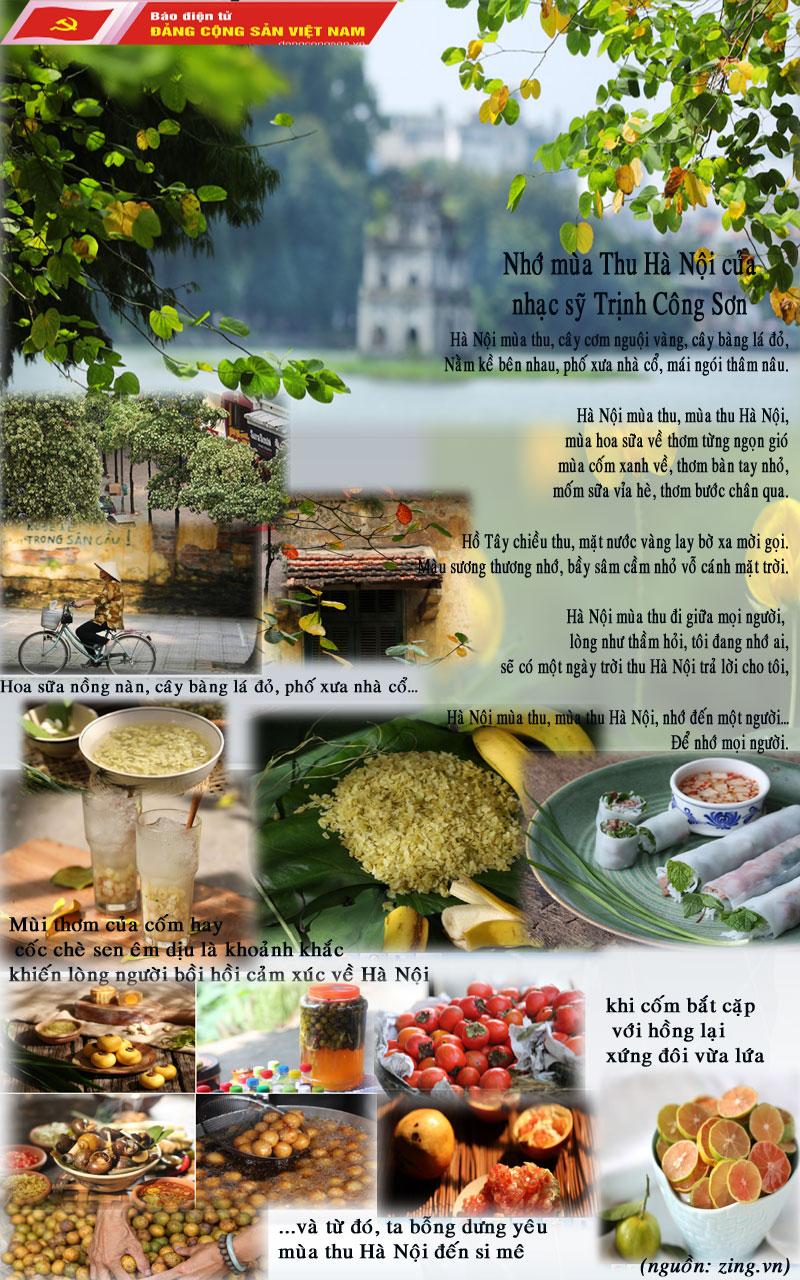 (Info) Những khoảnh khắc mùa thu Hà Nội