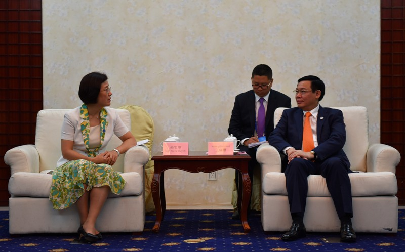 Thúc đẩy hợp tác nhiều lĩnh vực giữa ASEAN - Trung Quốc