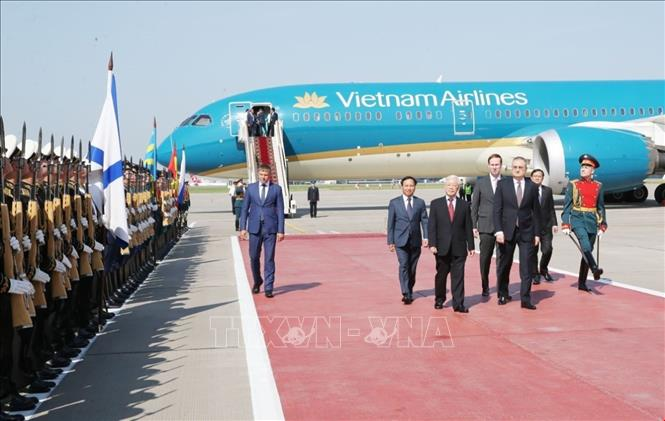 Dư luận Nga hoan nghênh chuyến thăm của Tổng Bí thư Nguyễn Phú Trọng