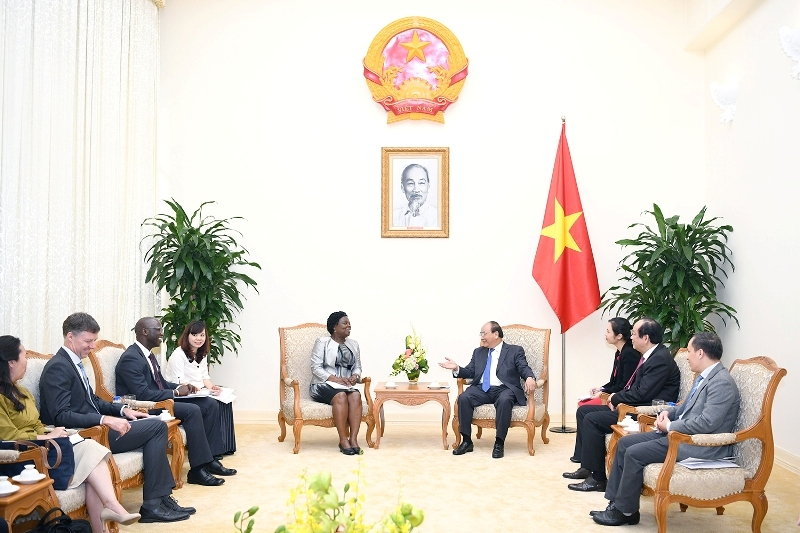 Thủ tướng Chính phủ tiếp Phó Chủ tịch phụ trách khu vực Đông Á và Thái Bình Dương, Ngân hàng Thế giới