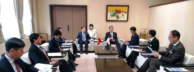 Tỉnh Aichi (Nhật Bản) và Bộ Kế hoạch và Đầu tư Việt Nam tăng cường hợp tác
