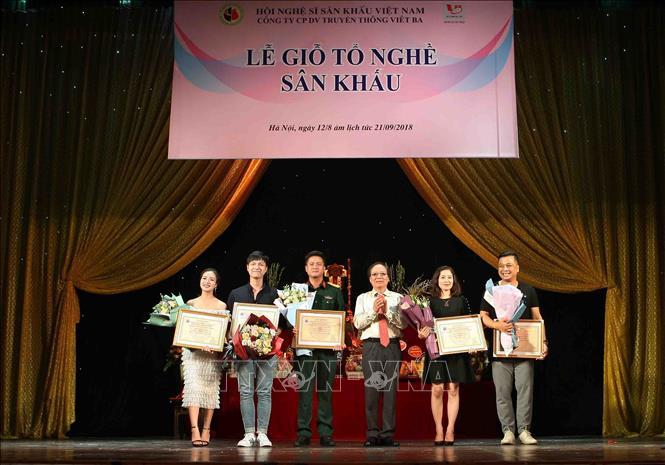 Lễ giỗ tổ nghề sân khấu, kỷ niệm Ngày Sân khấu Việt Nam lần thứ IX, năm 2018