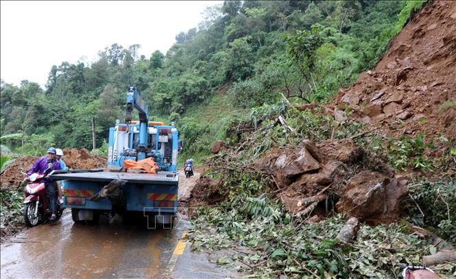 Lai Châu: Mưa lũ làm 3 người chết và mất tích, nhiều tuyến đường tắc nghẽn