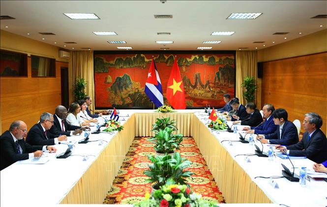 Thúc đẩy mối quan hệ đoàn kết anh em giữa Việt Nam và Cuba
