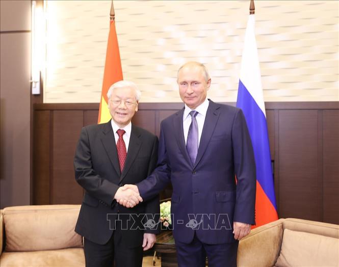 Tuyên bố chung về kết quả chuyến thăm chính thức Liên bang Nga của Tổng Bí thư Nguyễn Phú Trọng
