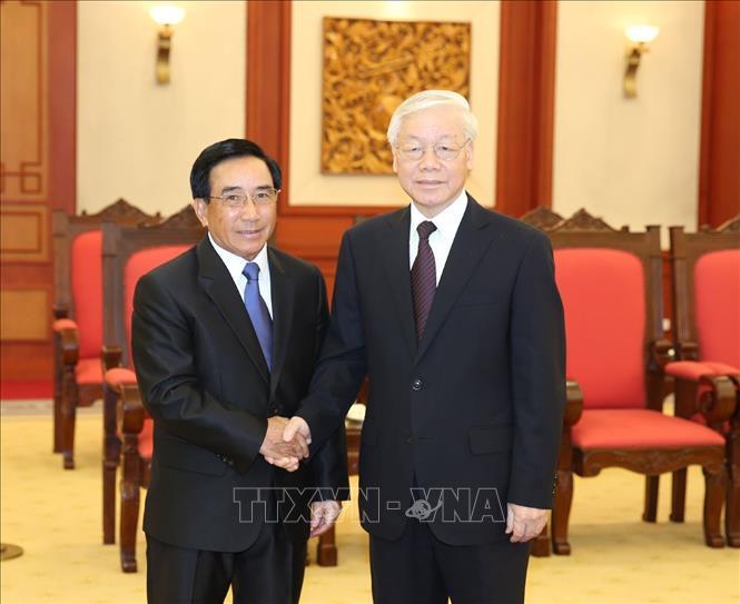 Giữ gìn và phát triển mối quan hệ đoàn kết đặc biệt Việt Nam - Lào