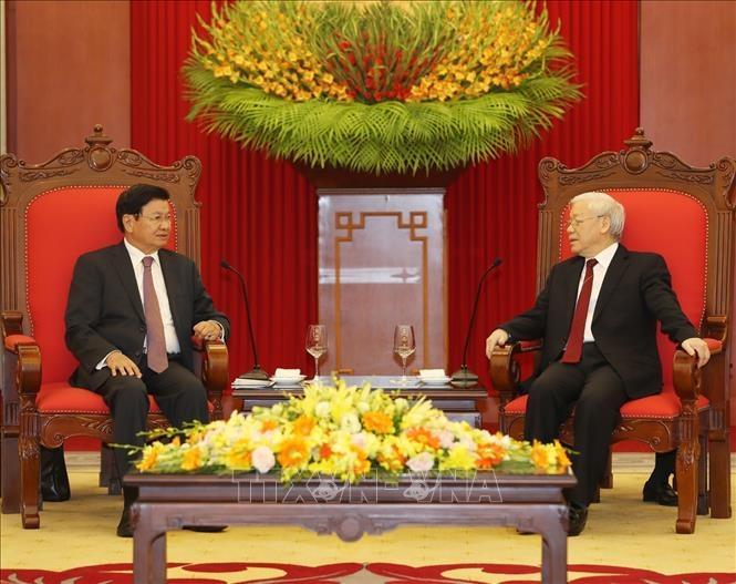 Tiếp tục nâng cao hiệu quả hợp tác Việt Nam - Lào
