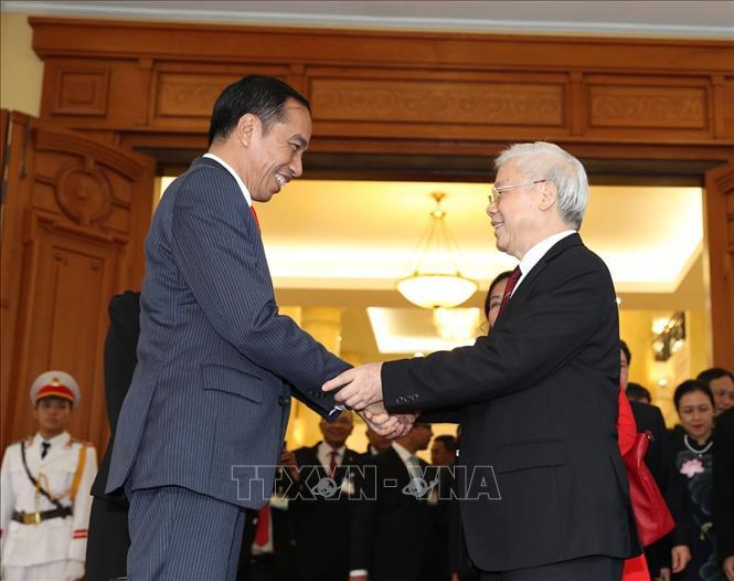 Việt Nam coi trọng hợp tác nhiều mặt với In-đô-nê-xi-a