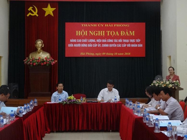 Nâng cao hiệu quả công tác đối thoại giữa người đứng đầu cấp ủy chính quyền với nhân dân