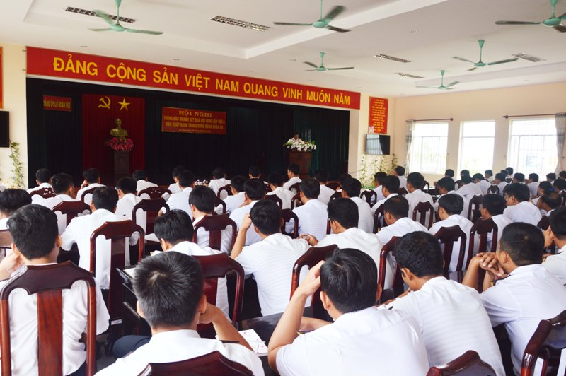 Lữ đoàn 962 triển khai thực hiện Nghị quyết Trung ương 8 (khóa XII)