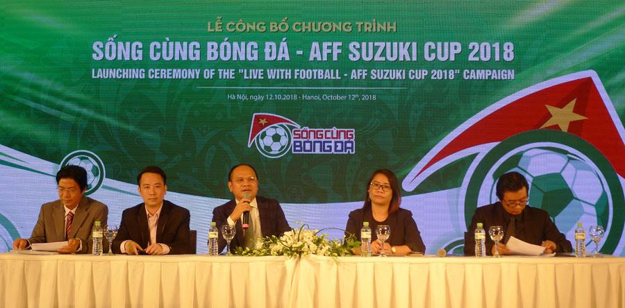 """Khởi động chương trình """"Sống cùng bóng đá - AFF Suzuki Cup 2018"""""""