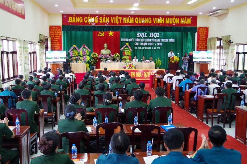Đại hội thi đua quyết thắng lực lượng vũ trang tỉnh Sóc Trăng giai đoạn 2013 - 2018