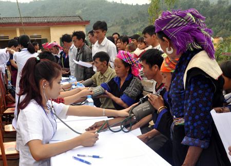 Mục tiêu tổng quát về tăng cường công tác bảo vệ, chăm sóc và nâng cao sức khỏe nhân dân
