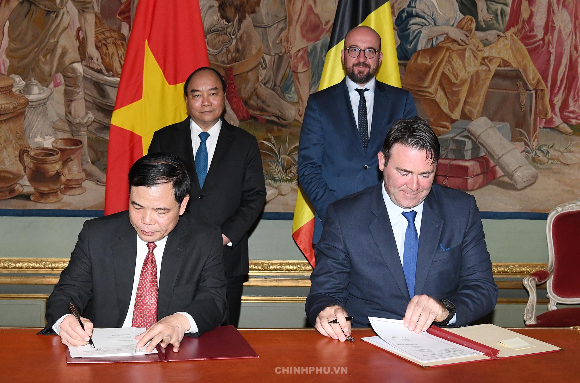 Bỉ cam kết giúp Việt Nam phát triển nền nông nghiệp sạch