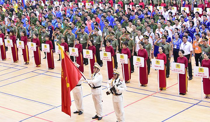 Khai mạc Hội thao lực lượng Công an nhân dân năm 2018