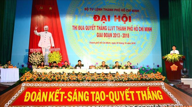 Lực lượng vũ trang TP Hồ Chí Minh tiếp tục đẩy mạnh phong trào Thi đua quyết thắng