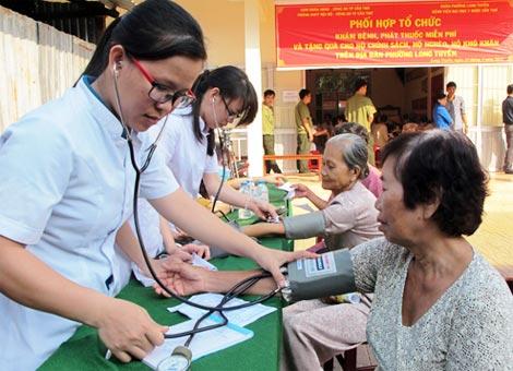 Mục tiêu cụ thể về tăng cường công tác bảo vệ, chăm sóc và nâng cao sức khỏe nhân dân đến năm 2025