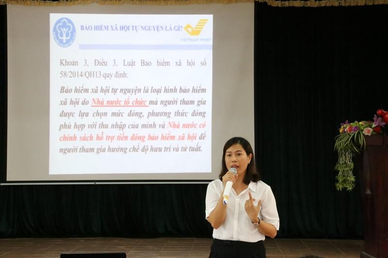 Tuyên Quang phát triển đối tượng tham gia BHXH tự nguyện, BHYT hộ gia đình
