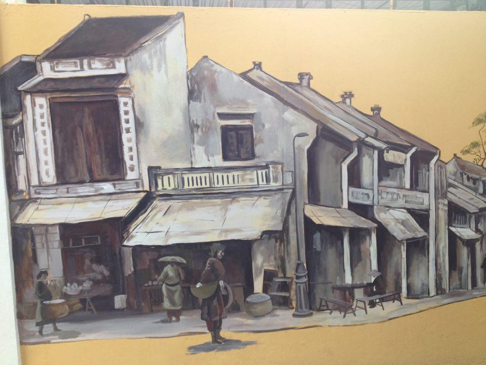 Độc đáo bích họa 3D trên phố Phan Đình Phùng (Hà Nội)