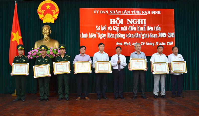 """Nam Định: Đẩy mạnh thực hiện """"Ngày Biên phòng toàn dân"""""""