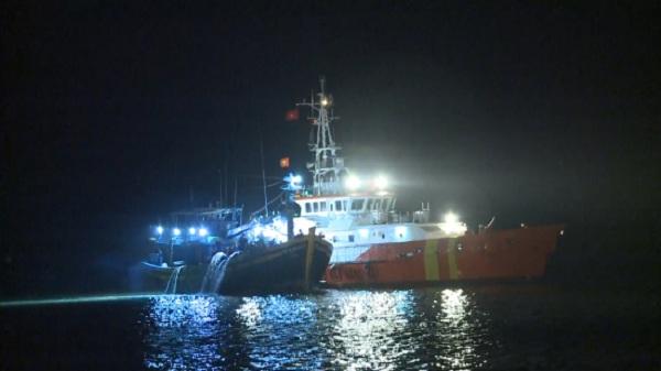Tiếp nhận 24 thuyền viên bị nạn khi tránh bão Yutu