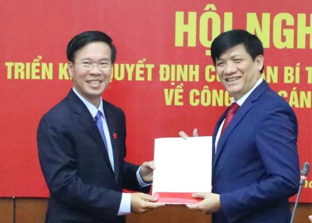 Ban Bí thư điều động, bổ nhiệm Phó Trưởng Ban Tuyên giáo Trung ương