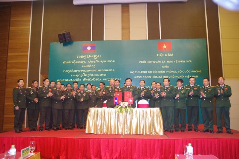 Tăng cường phối hợp quản lý, bảo vệ biên giới hai nước Việt Nam – Lào  