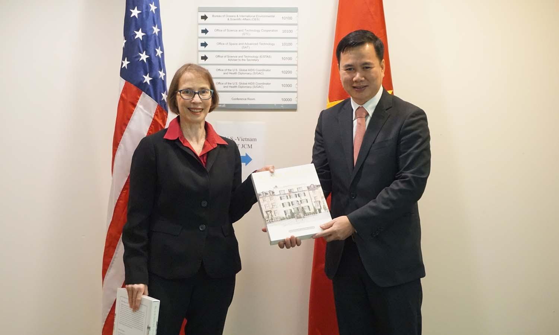 Việt Nam - Hoa Kỳ đẩy mạnh hợp tác về khoa học và công nghệ