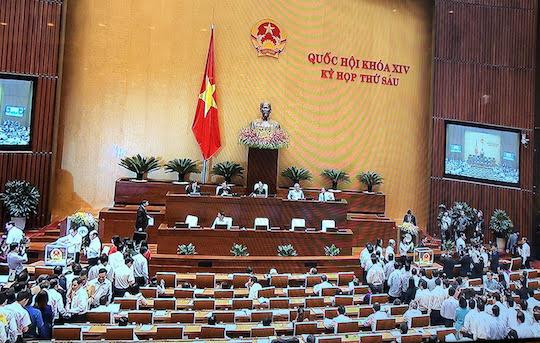 Quốc hội tiến hành bỏ phiếu bầu Chủ tịch nước