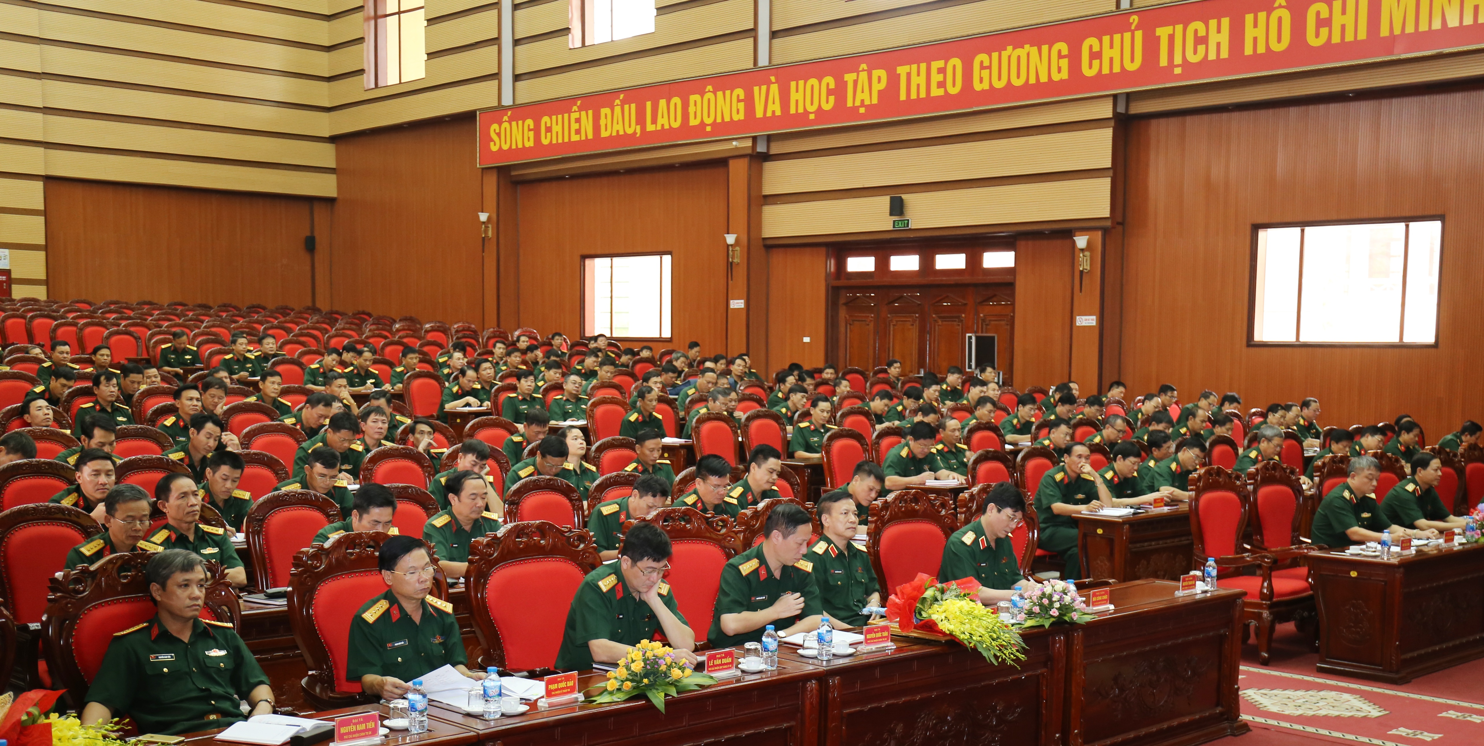 Quân khu 3: Chủ động xây dựng chương trình hành động thực hiện các nghị quyết, kết luận của Hội nghị TƯ 8 khóa XII
