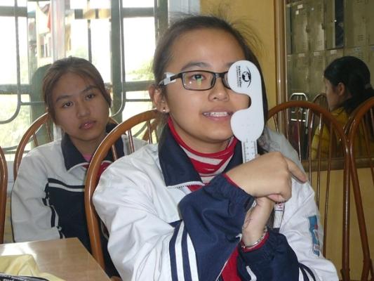 Phát triển mô hình chăm sóc cho mắt học sinh