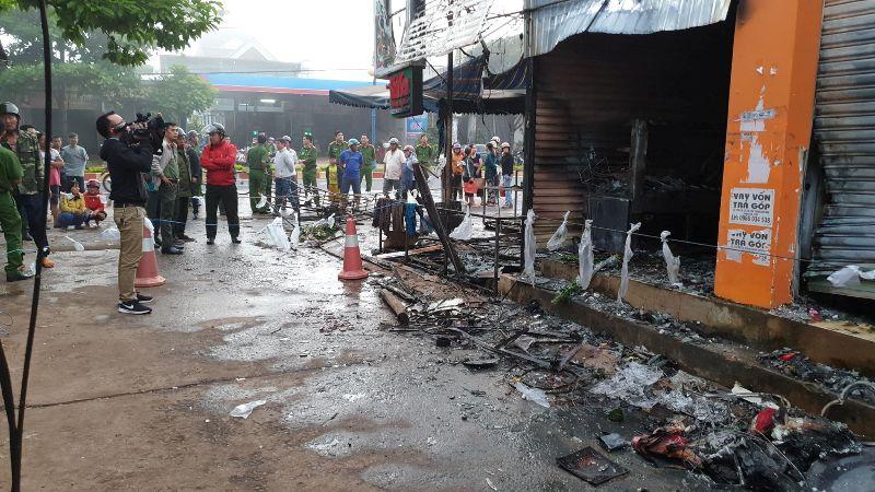 Đắk Lắk: Hỏa hoạn nghiêm trọng khiến 3 người thương vong