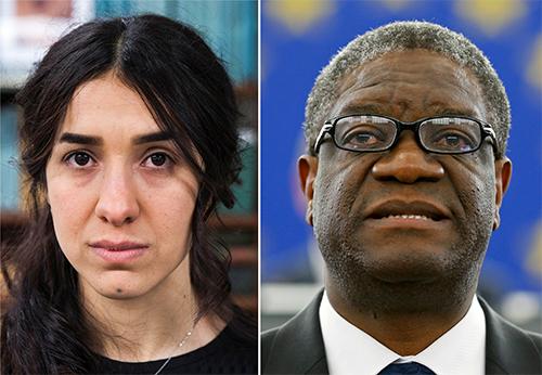 Giải Nobel Hòa bình 2018 vinh danh nỗ lực bảo vệ phụ nữ
