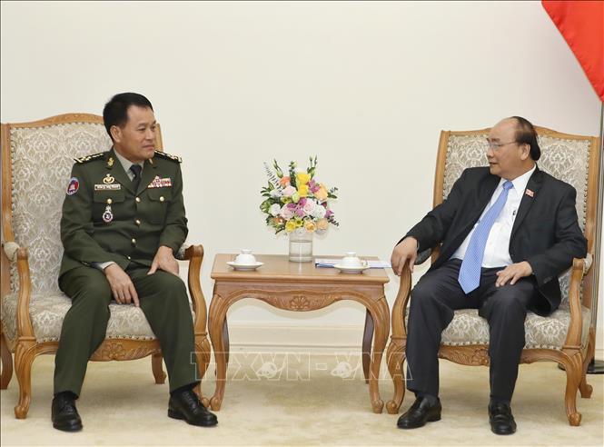 Thúc đẩy hợp tác giữa quân đội hai nước Việt Nam – Campuchia