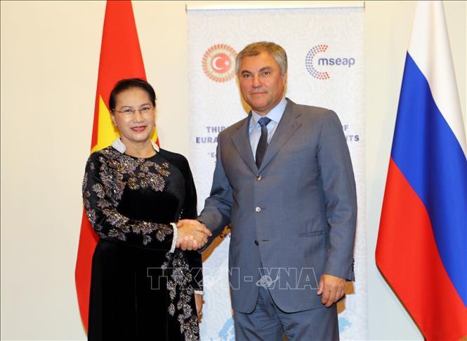 Việt Nam ủng hộ sáng kiến thành lập Ủy ban Liên nghị viện cấp cao Việt Nam - Nga