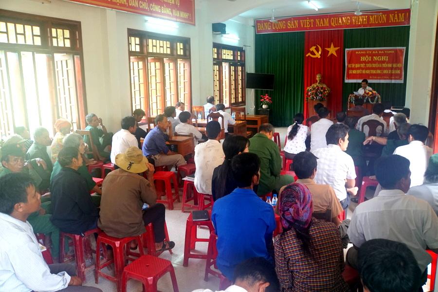 Huyện Ba Tơ (Quảng Ngãi) chú trọng xây dựng đội ngũ cán bộ